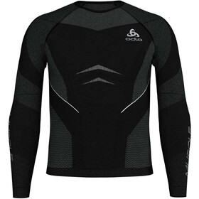 Odlo Suw Performance Muscle LS Top Crew Neck Men black-platinum grey